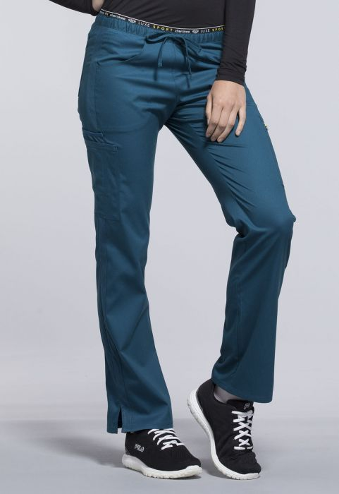 a4447e4e9b5 Available in Stores. Mid Rise Straight Leg Pull-on Pant