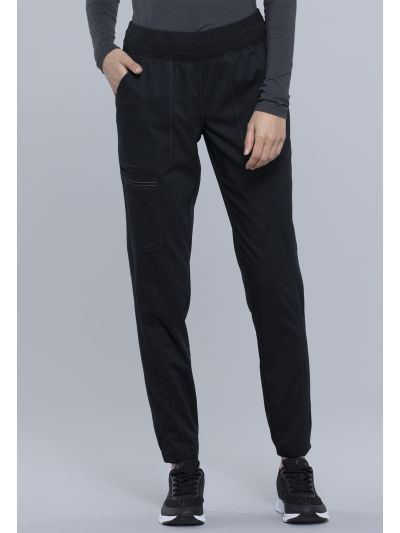 Natural Rise Tapered Leg Jogger Pant