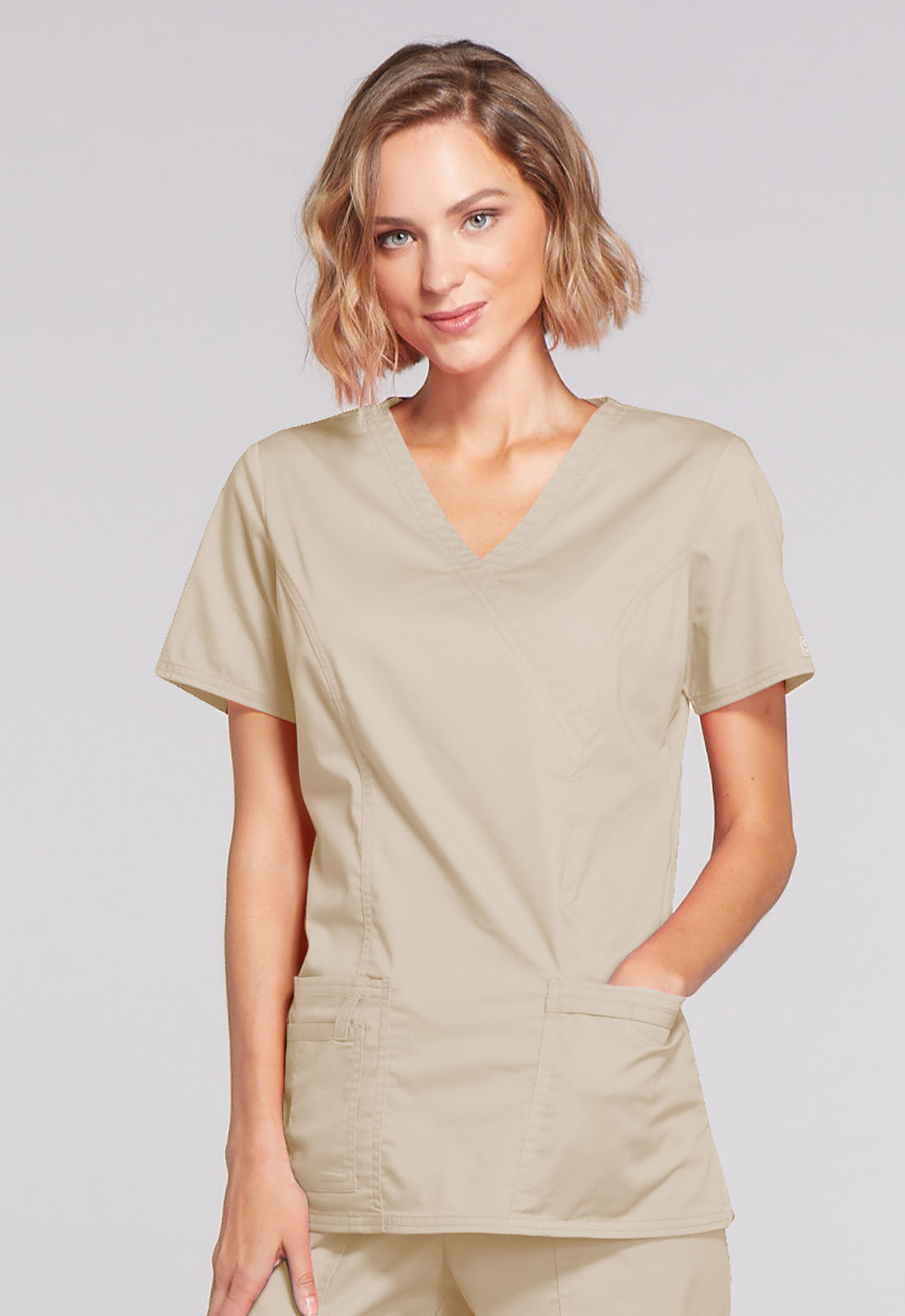 Mock Wrap Top
