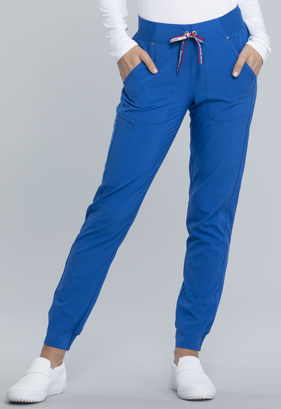 Mid Rise Tapered Leg Jogger